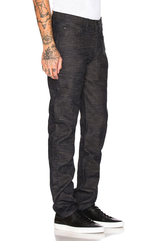 Image 2 of Naked & Famous Denim Weird Guy Jeans in Frankenstein 4