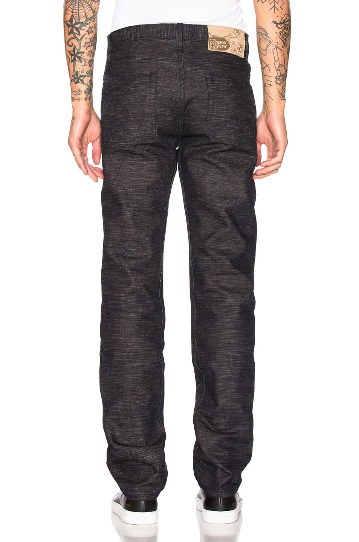 Image 3 of Naked & Famous Denim Weird Guy Jeans in Frankenstein 4