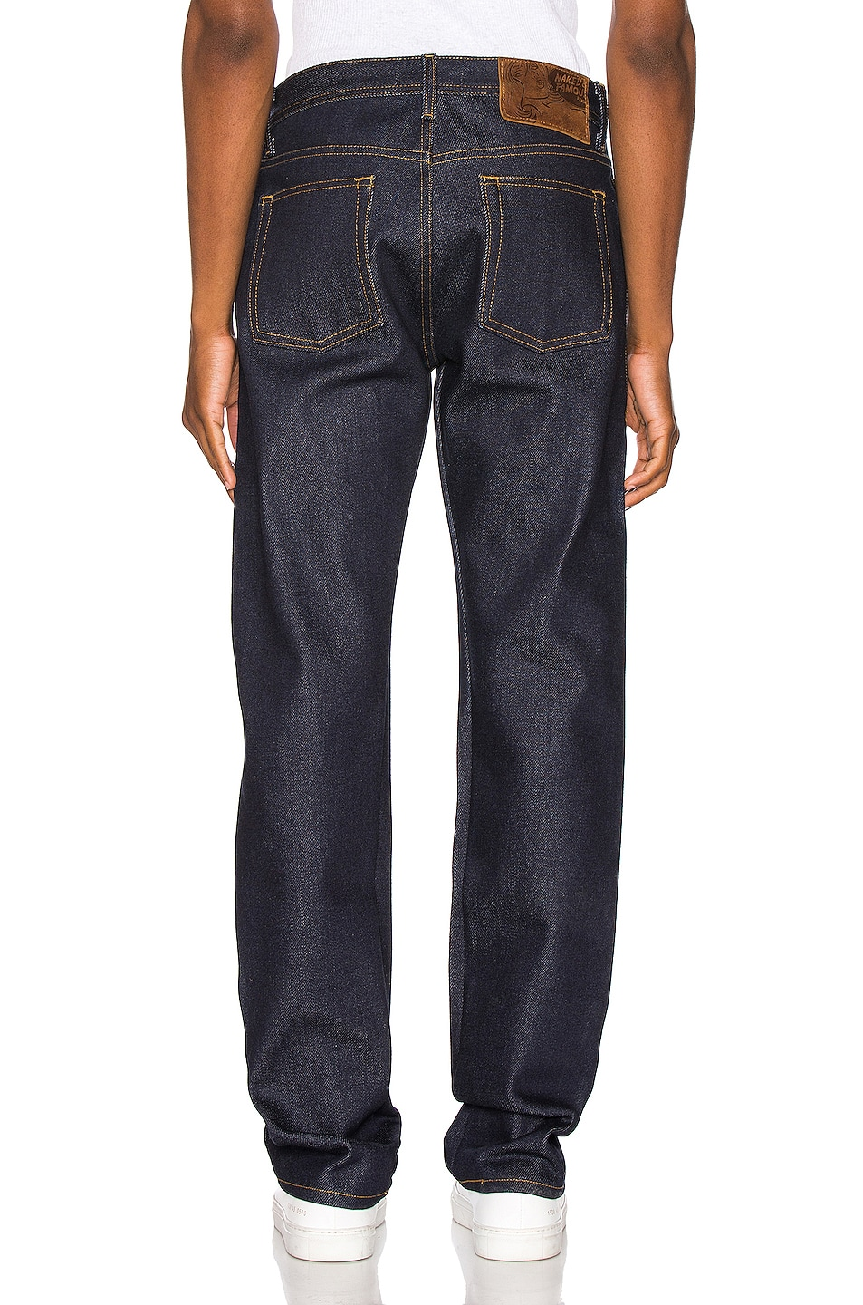 Image 3 of Naked & Famous Denim Weird Guy Jeans in Elephant 8 Supima Soft Selvedge