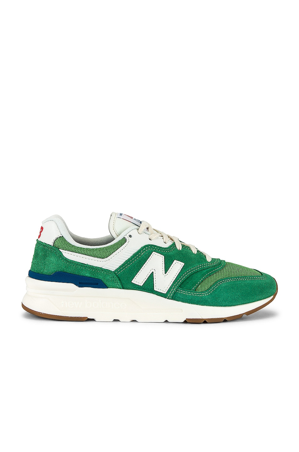 Image 1 of New Balance 997H in Varsity Green & Light Rogue Wave