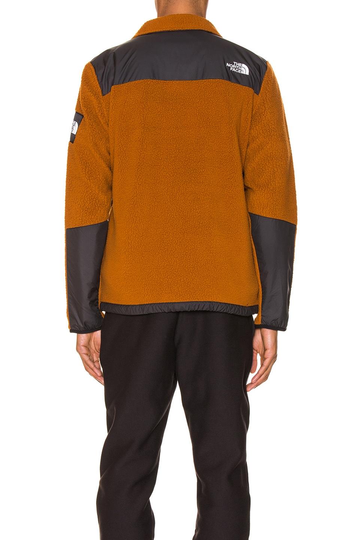 Image 5 of The North Face Black Box Denali Fleece Jacket in Caramel Cafe & TNF Black