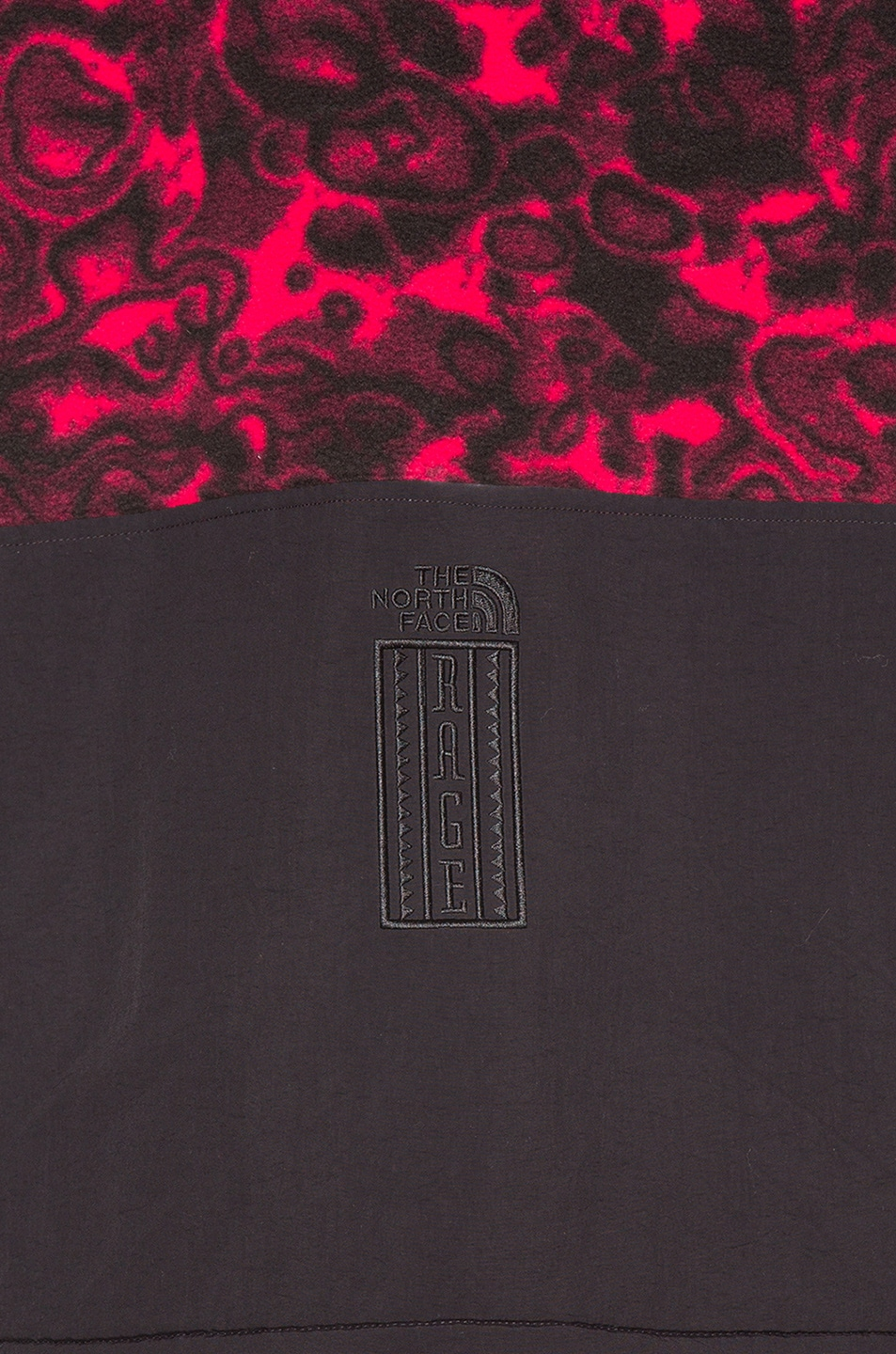 Image 5 of The North Face Black 94 Rage Fleece Pullover in Rose Red