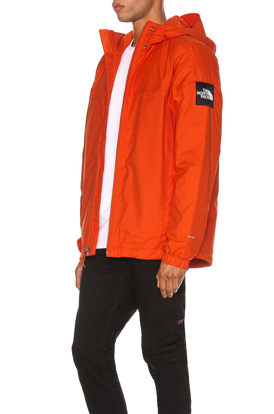 Image 1 of The North Face Black Box Ins Mountain Q Jacket in Tangerine Tango