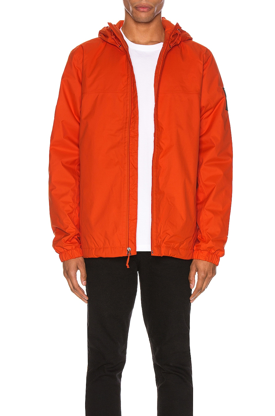 Image 2 of The North Face Black Box Ins Mountain Q Jacket in Tangerine Tango
