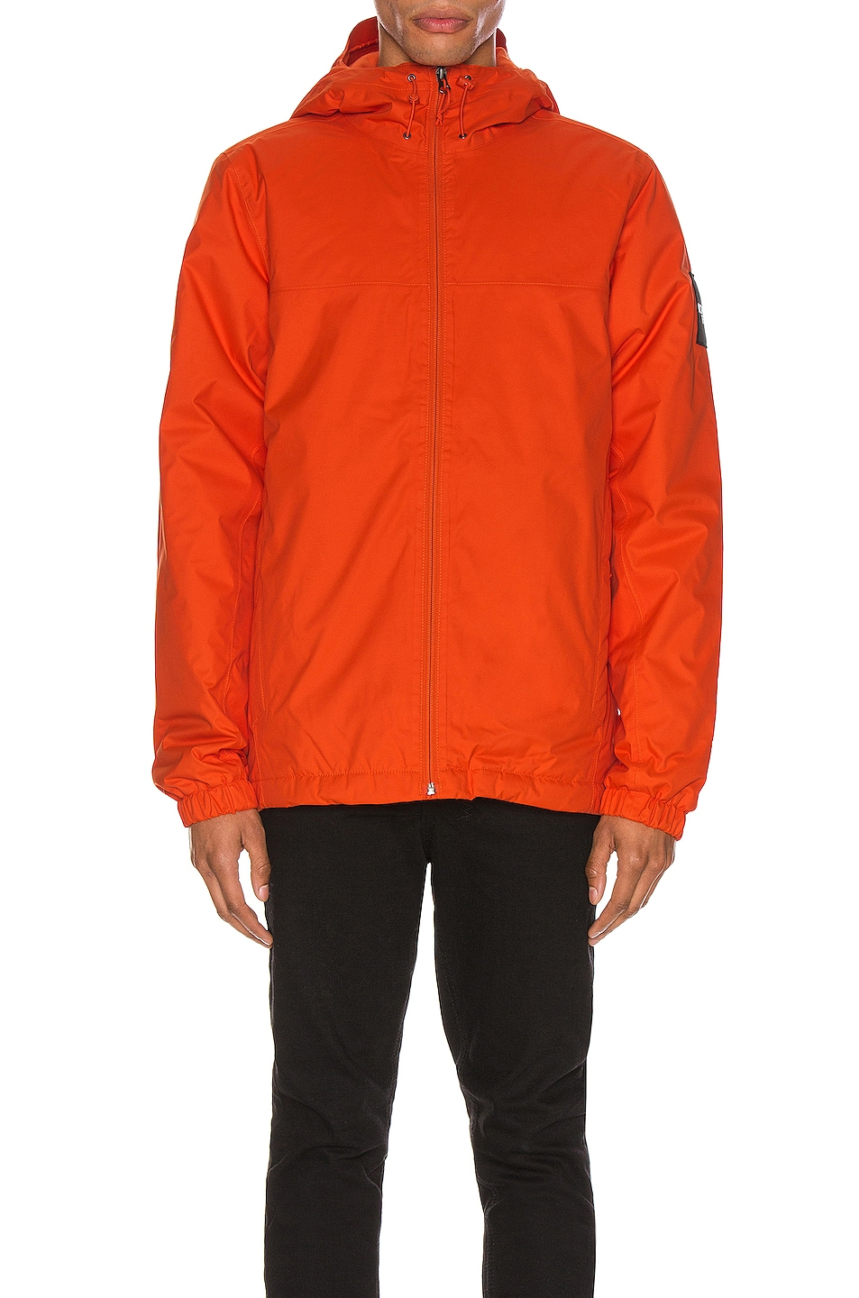 Image 3 of The North Face Black Box Ins Mountain Q Jacket in Tangerine Tango