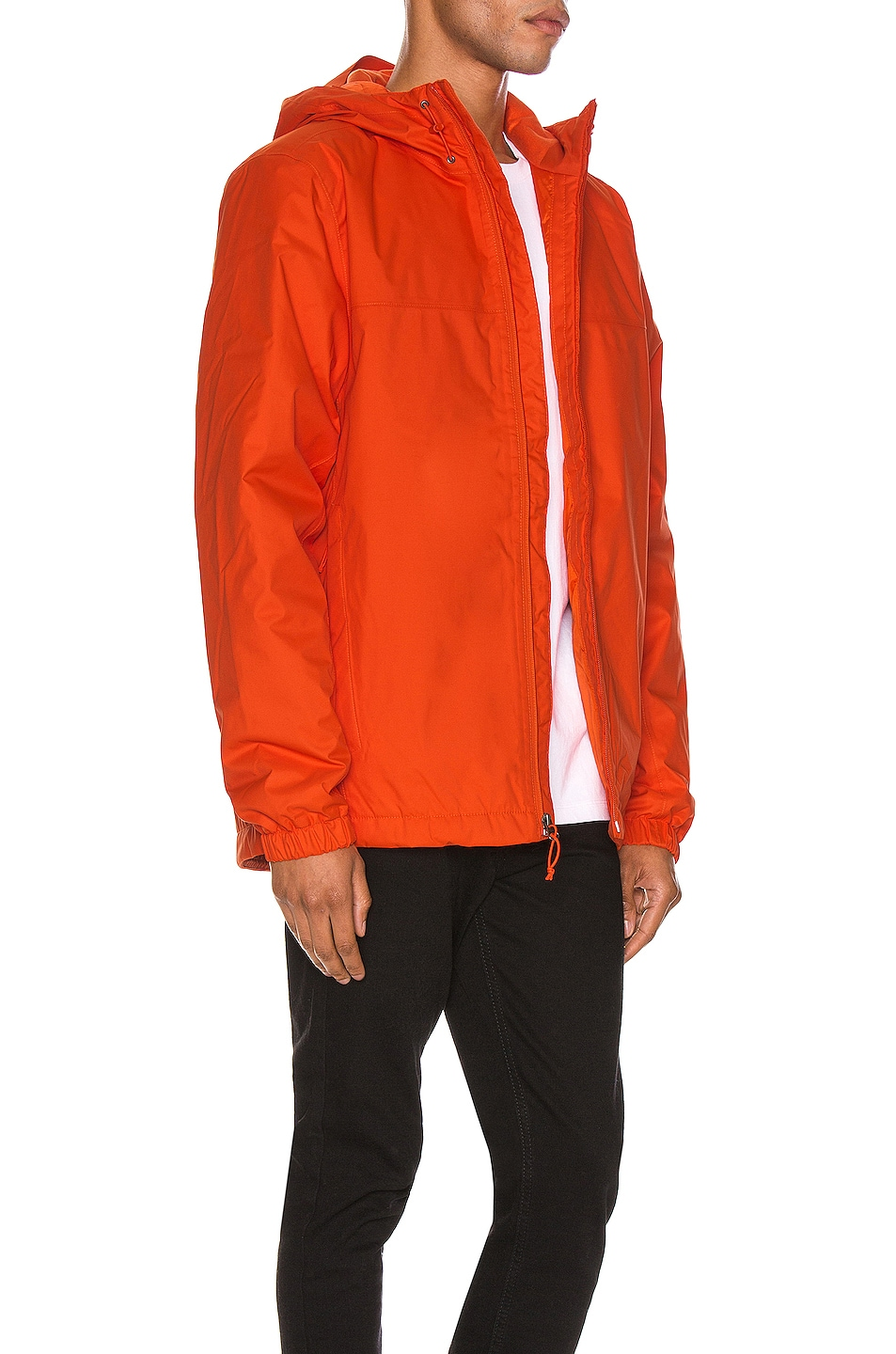 Image 4 of The North Face Black Box Ins Mountain Q Jacket in Tangerine Tango