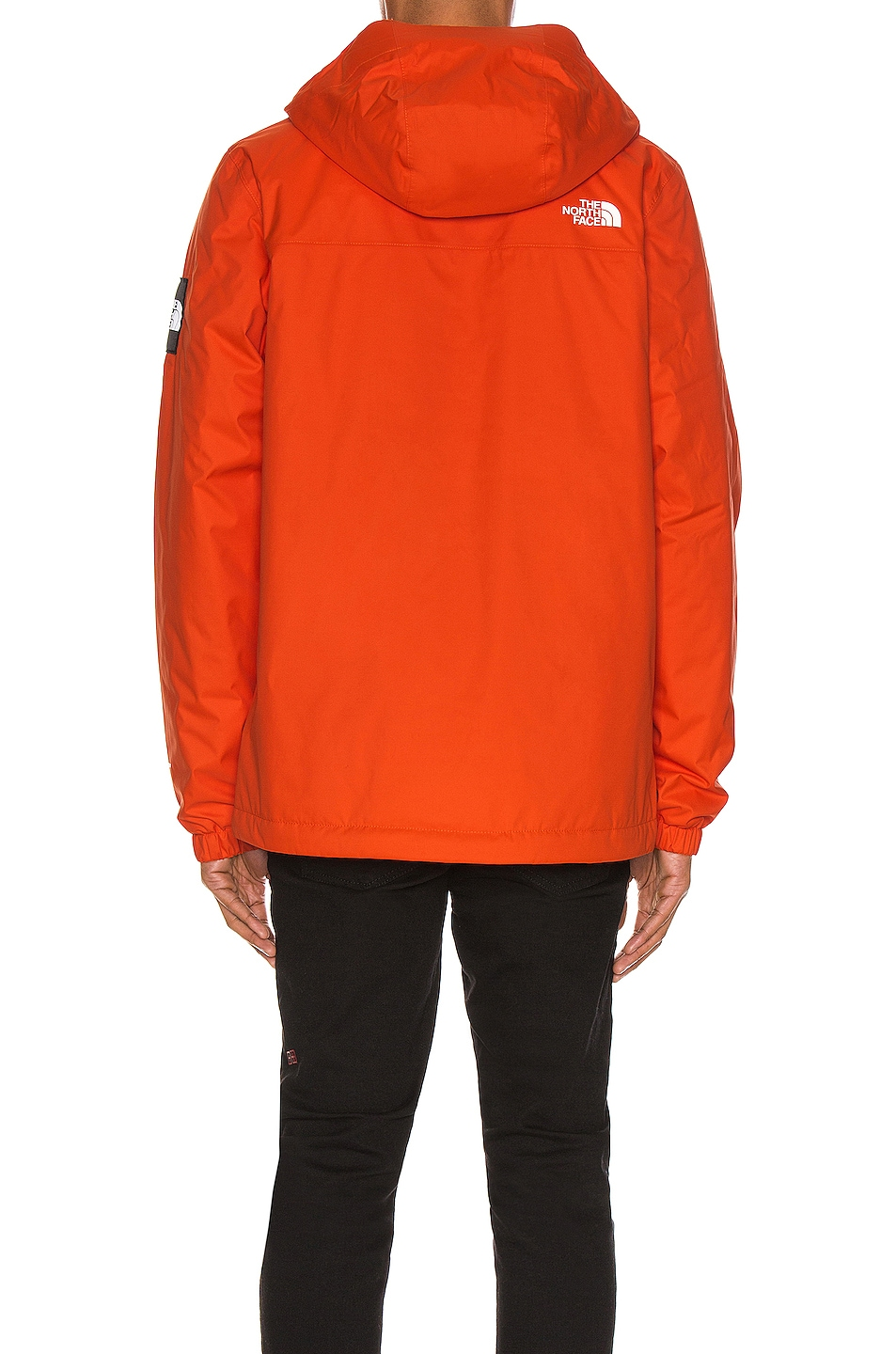 Image 5 of The North Face Black Box Ins Mountain Q Jacket in Tangerine Tango