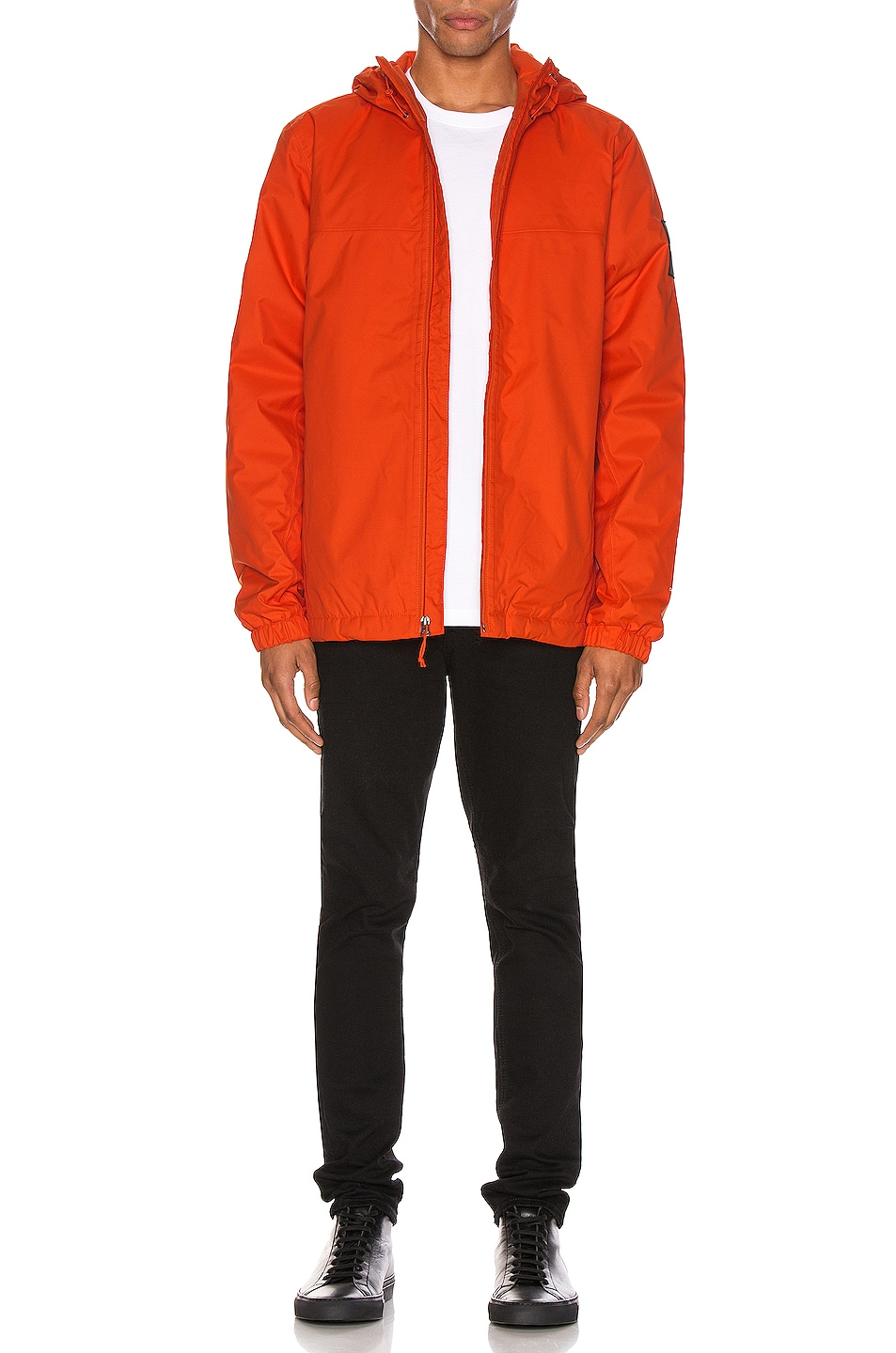 Image 6 of The North Face Black Box Ins Mountain Q Jacket in Tangerine Tango