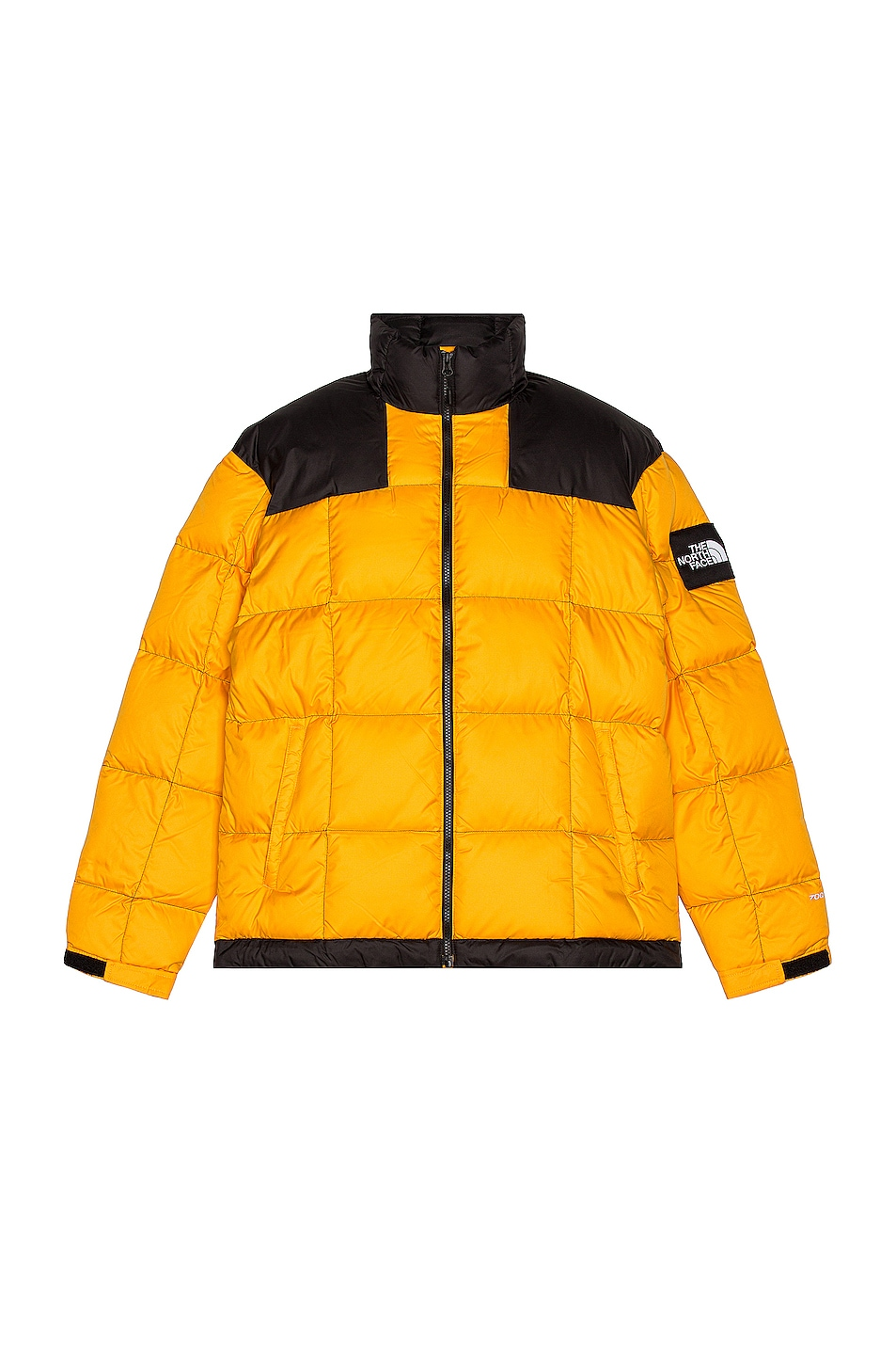 Image 1 of The North Face Black Lhotse Jacket in Summit Gold