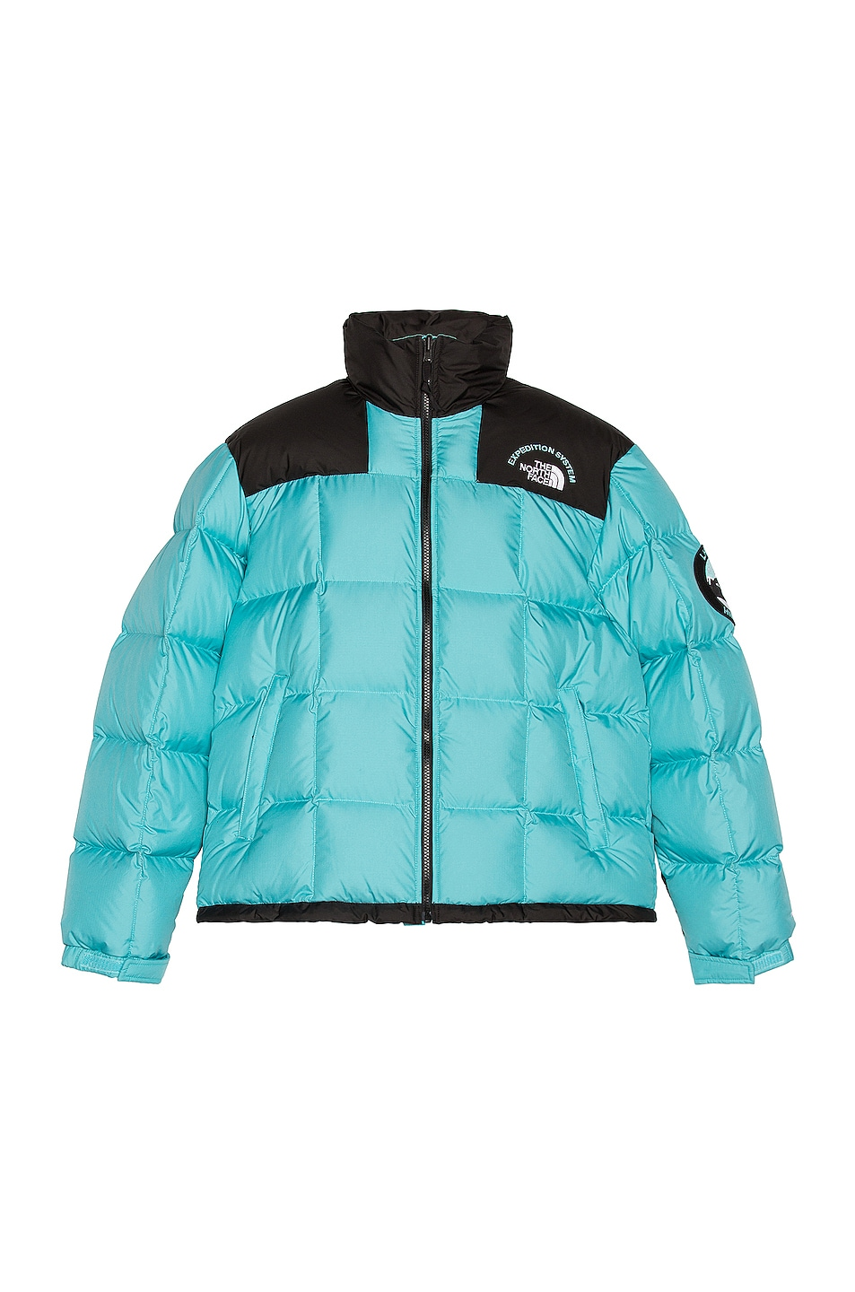 Image 1 of The North Face Black Lhotse Expedition Parka in Transantarctic Blue