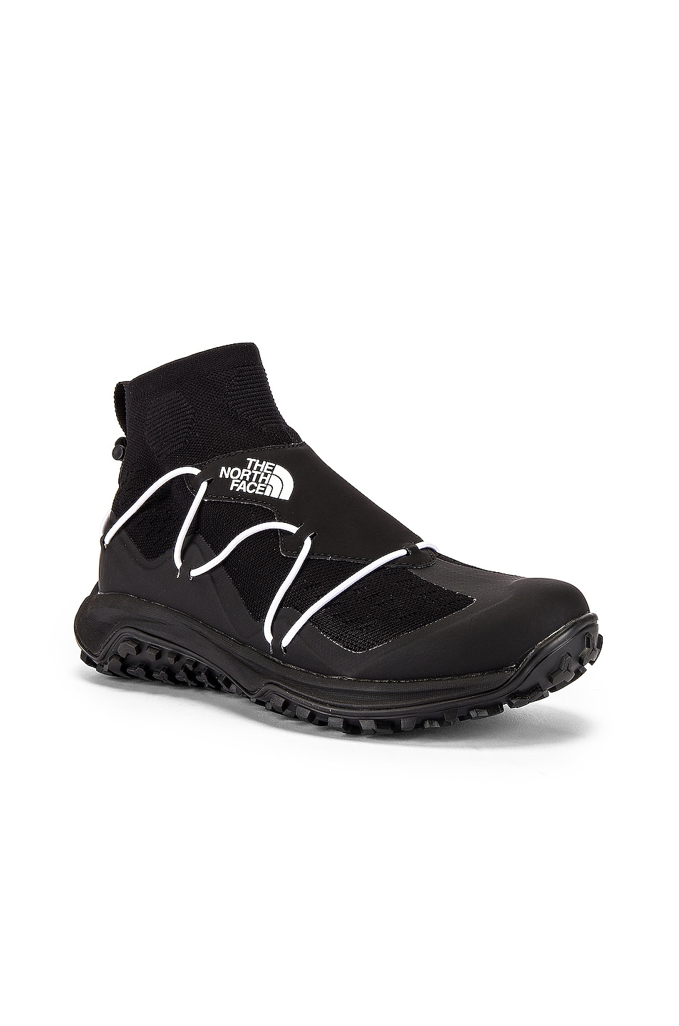 Image 1 of The North Face Black Sihl Mid Sneaker in TNF Black & TNF White