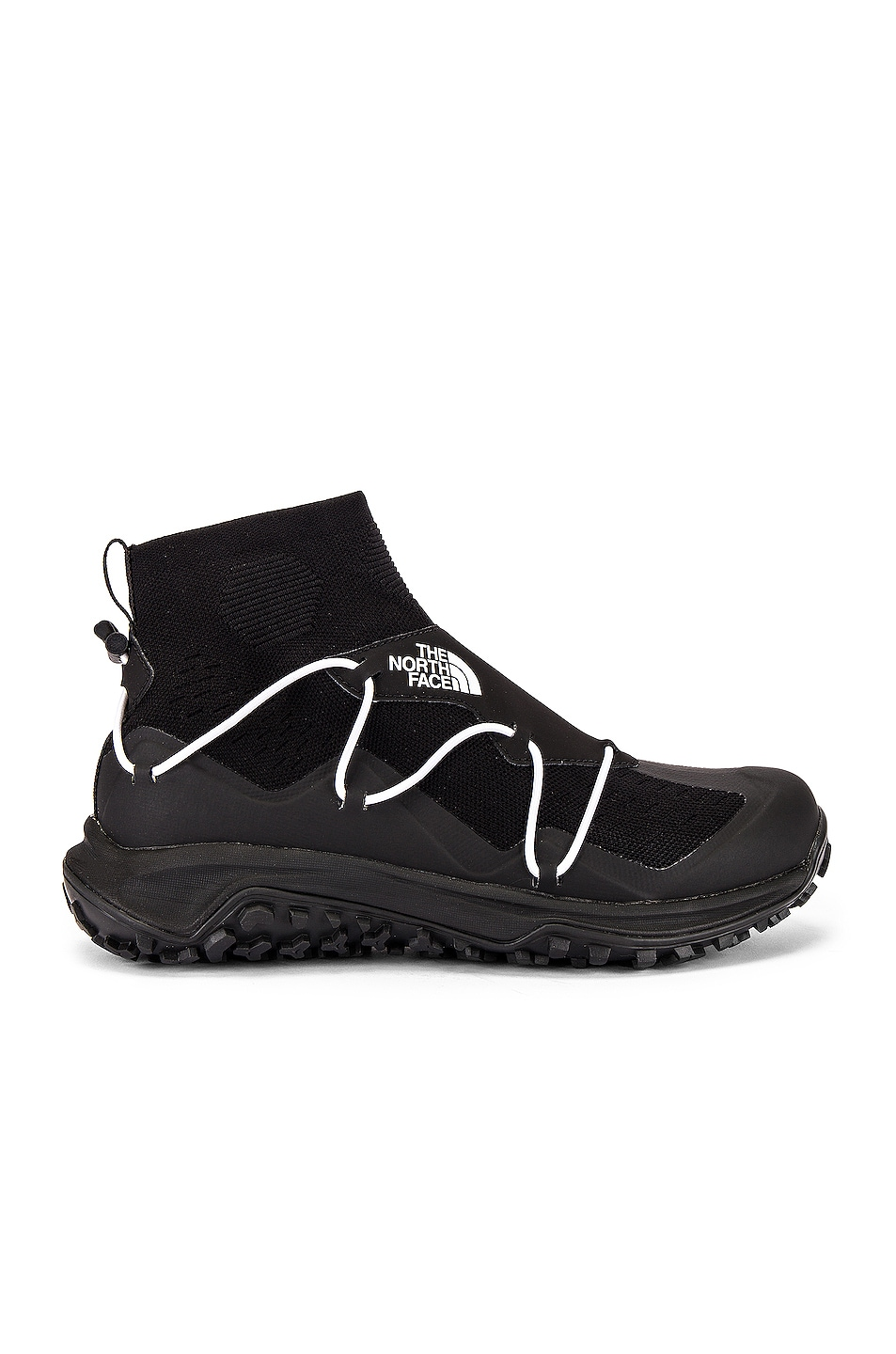 Image 2 of The North Face Black Sihl Mid Sneaker in TNF Black & TNF White