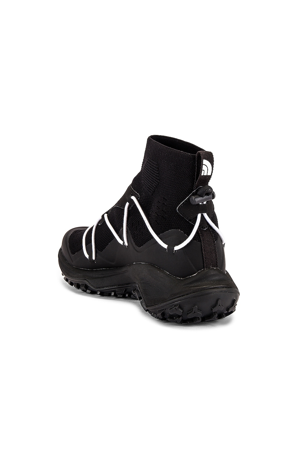 Image 3 of The North Face Black Sihl Mid Sneaker in TNF Black & TNF White