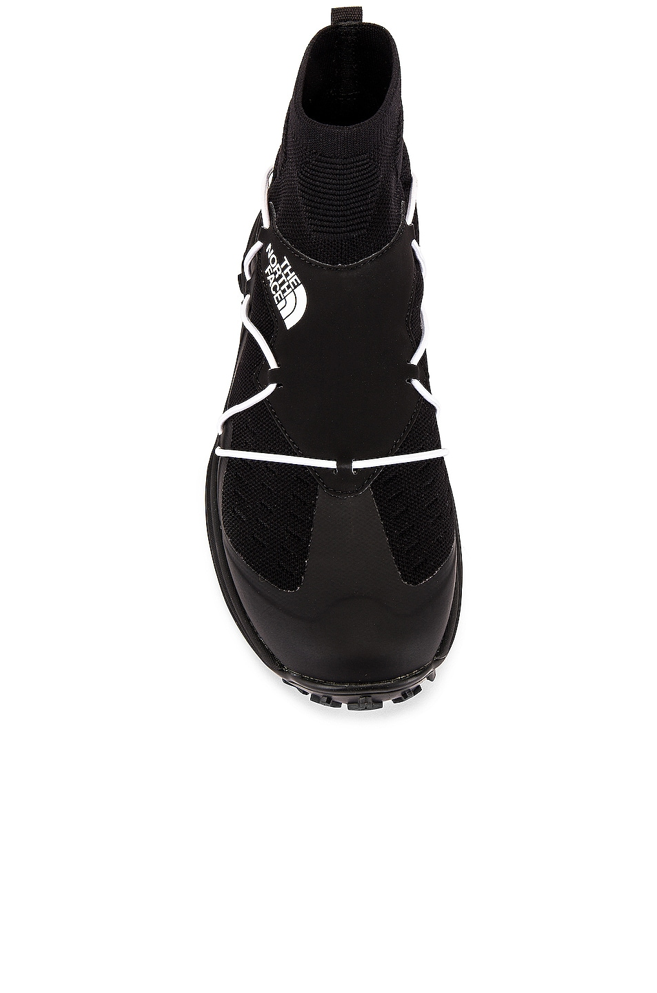 Image 4 of The North Face Black Sihl Mid Sneaker in TNF Black & TNF White