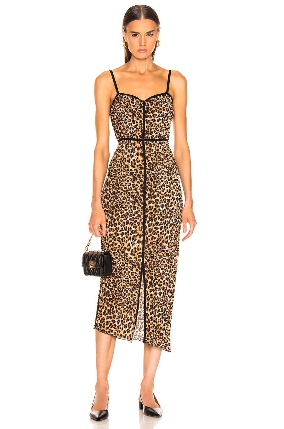 Image 1 of Nanushka Abir Dress in Ocelot