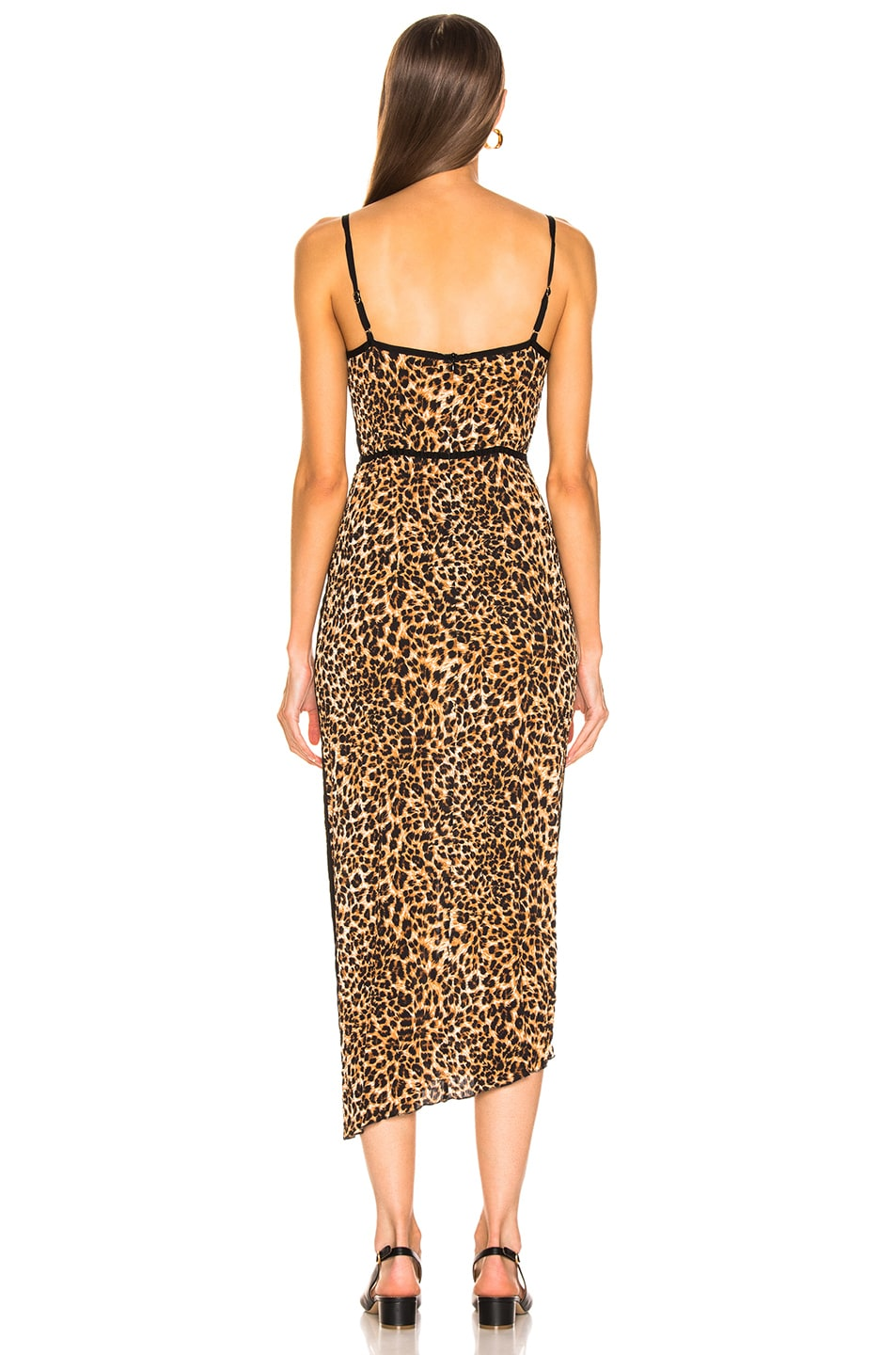 Image 3 of Nanushka Abir Dress in Ocelot