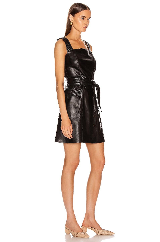 Image 2 of Nanushka Charo Dress in Black