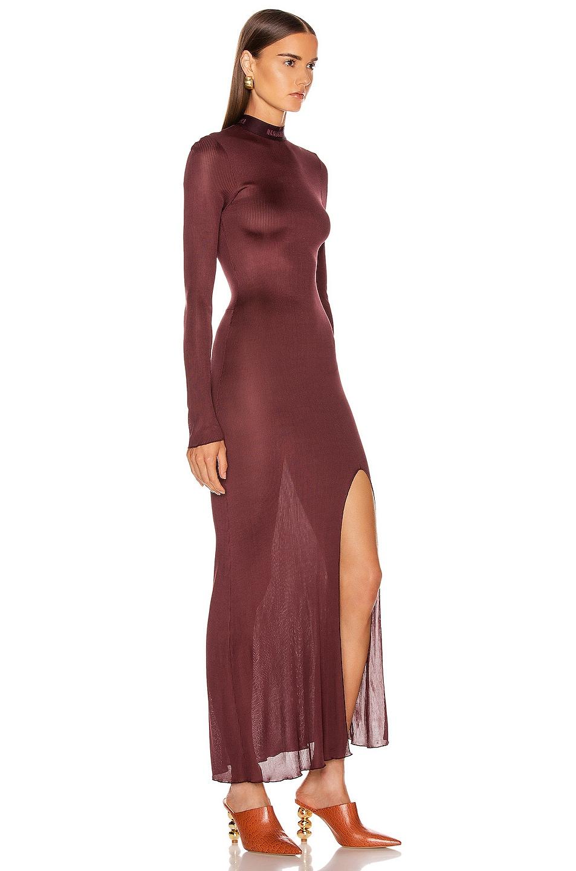 Image 2 of Nanushka Hebe Dress in Berry