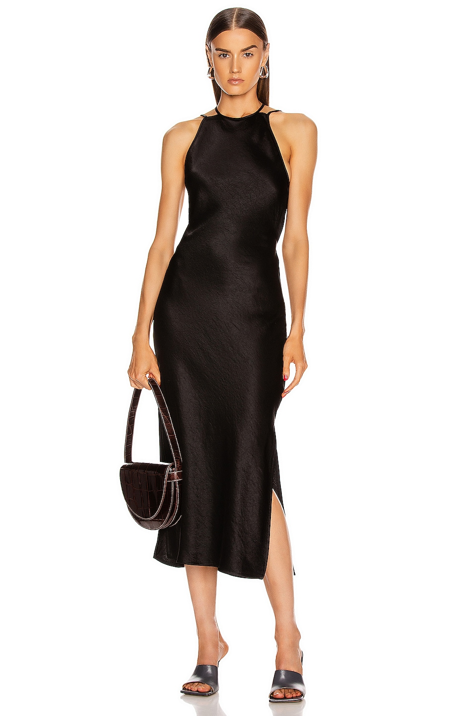 Image 1 of Nanushka Narita Dress in Black