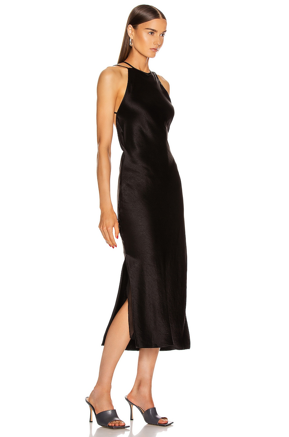 Image 2 of Nanushka Narita Dress in Black