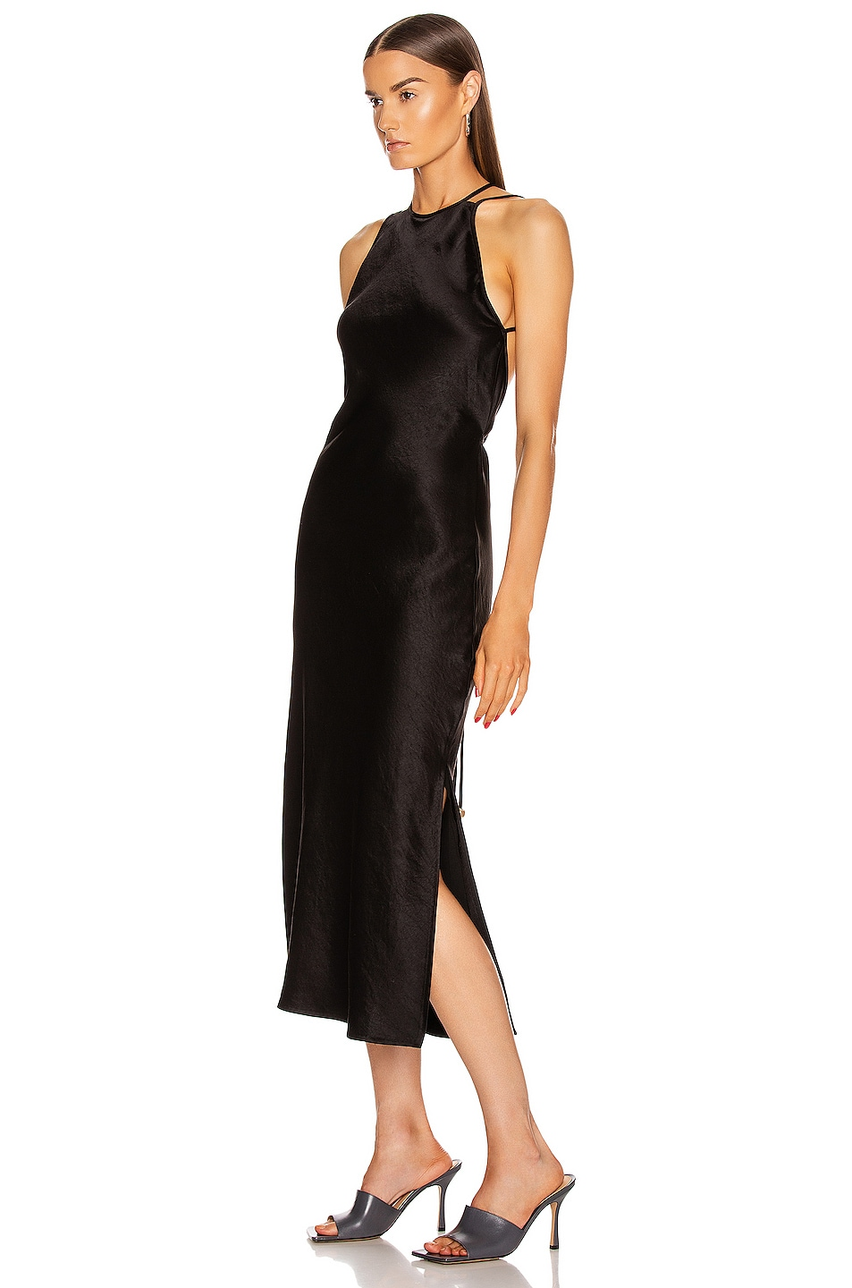 Image 3 of Nanushka Narita Dress in Black