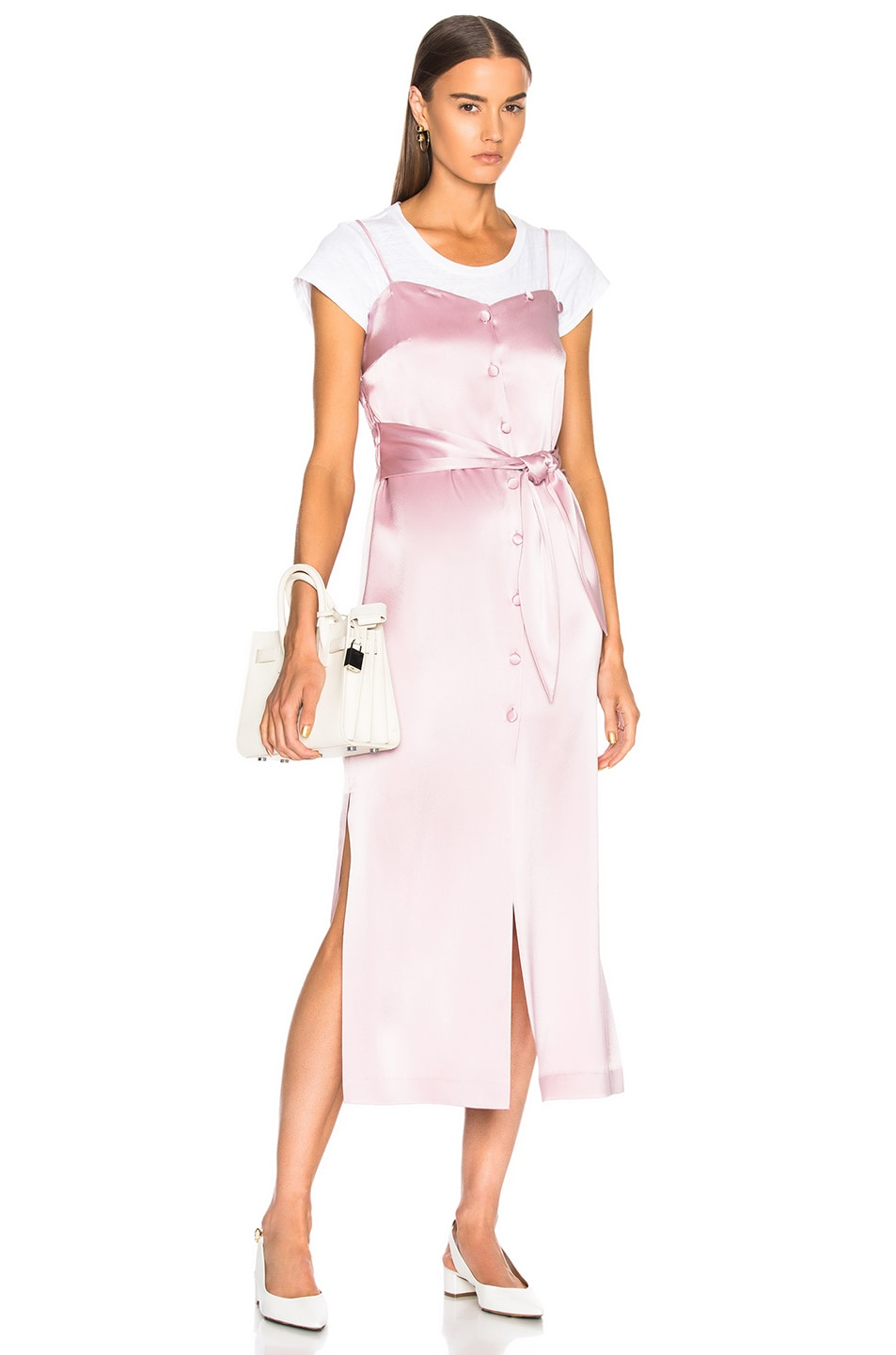 Nanushka Soraya Dress in Pink