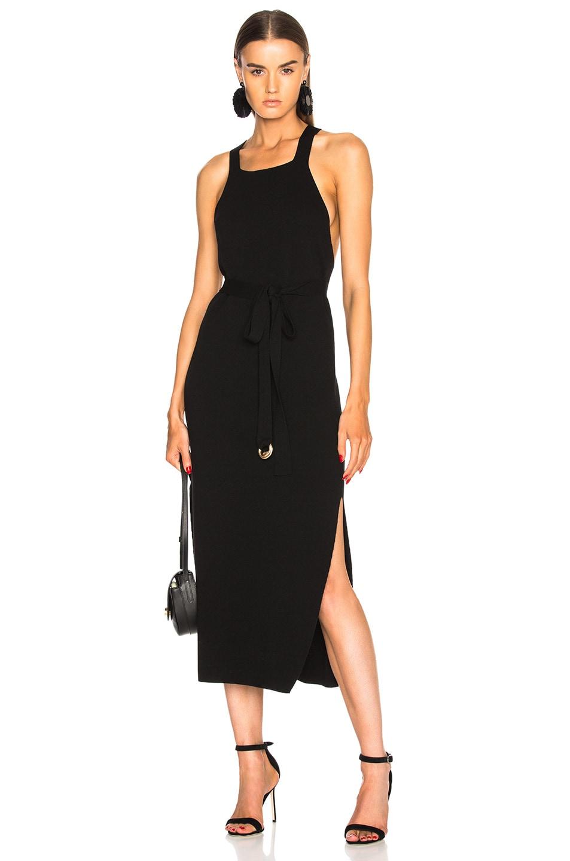 Nanushka Sava Dress in Black
