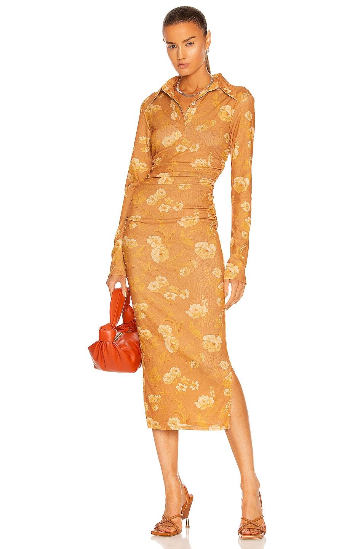 Image 1 of Nanushka Verity Dress in Fantasy Flower
