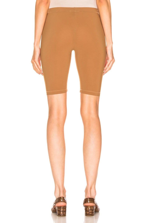 Image 3 of Nanushka Biker Shorts in Brown