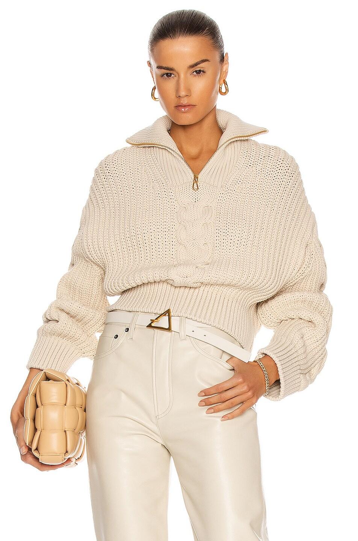 Image 1 of Nanushka Eria Sweater in Creme