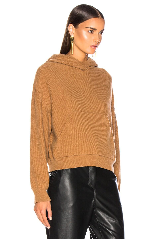 Image 3 of Nanushka Mog Sweatshirt in Caramel