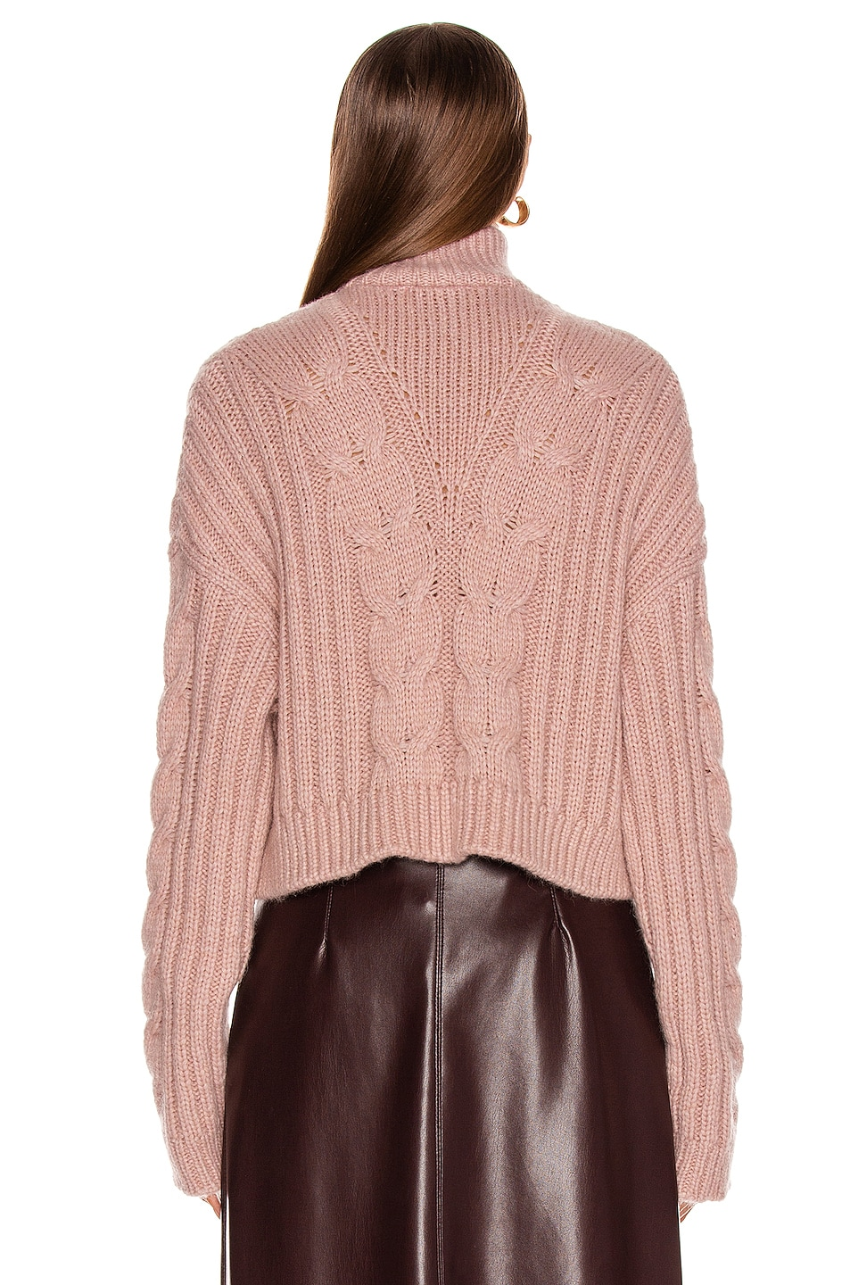 Image 3 of Nanushka Eria Sweater in Pale Pink
