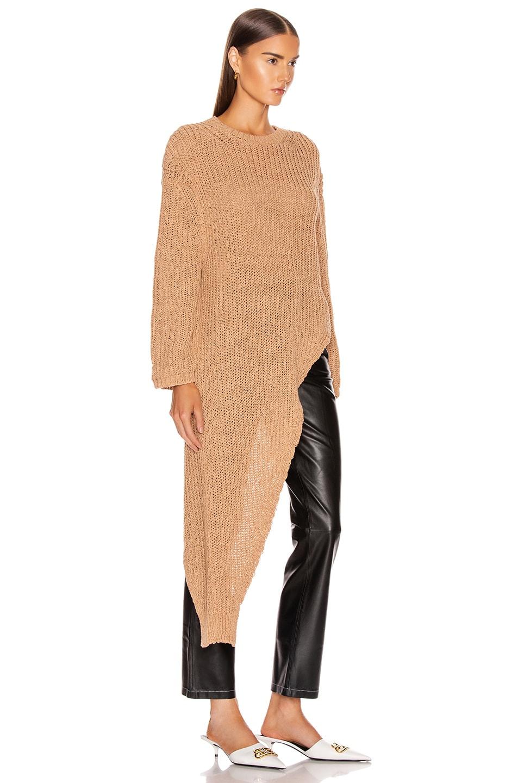 Image 2 of Nanushka Rodi Sweater in Nude
