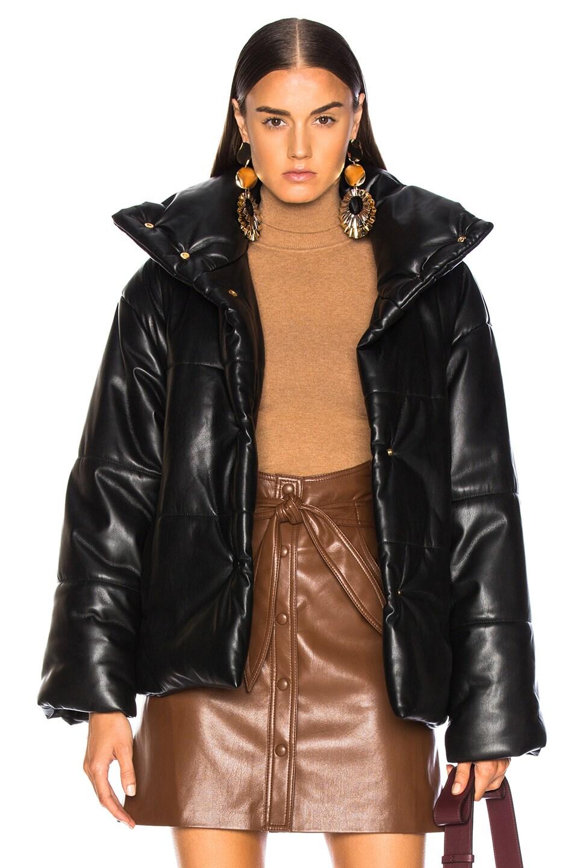 Image 1 of Nanushka Hide Jacket in Black