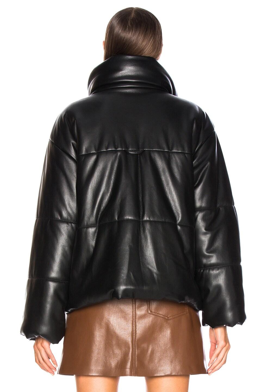 Image 4 of Nanushka Hide Jacket in Black
