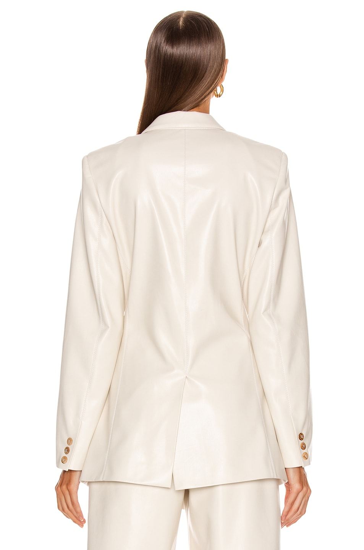 Image 4 of Nanushka Blair Jacket in Off-White
