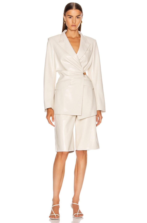 Image 5 of Nanushka Blair Jacket in Off-White