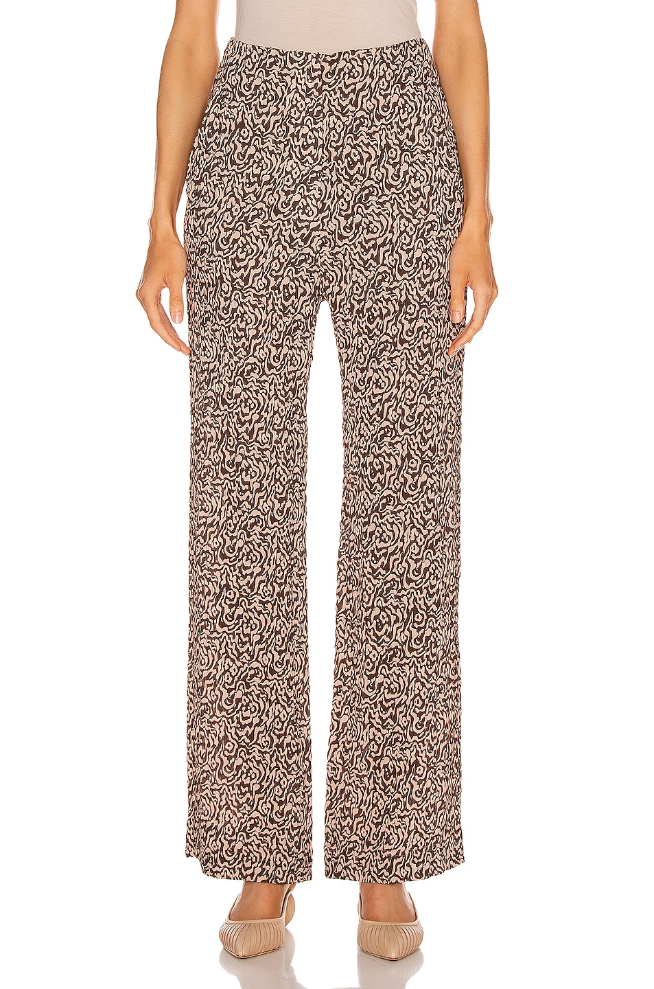 Image 1 of Nanushka Kisa Pant in Graphic Animal Latte