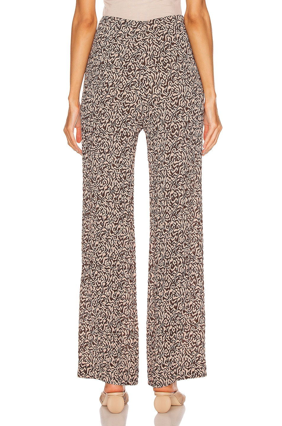 Image 3 of Nanushka Kisa Pant in Graphic Animal Latte