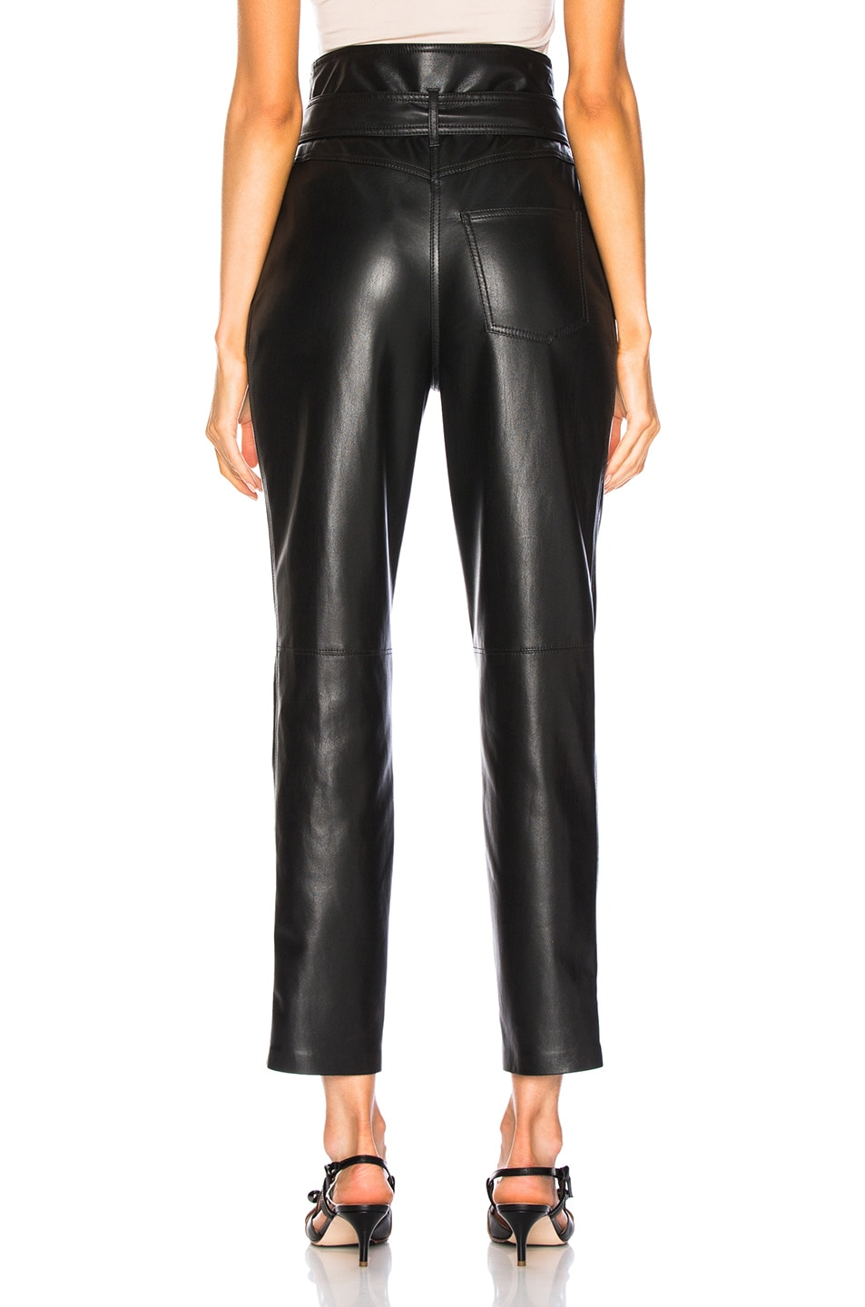 Image 3 of Nanushka Ethan Pants in Black