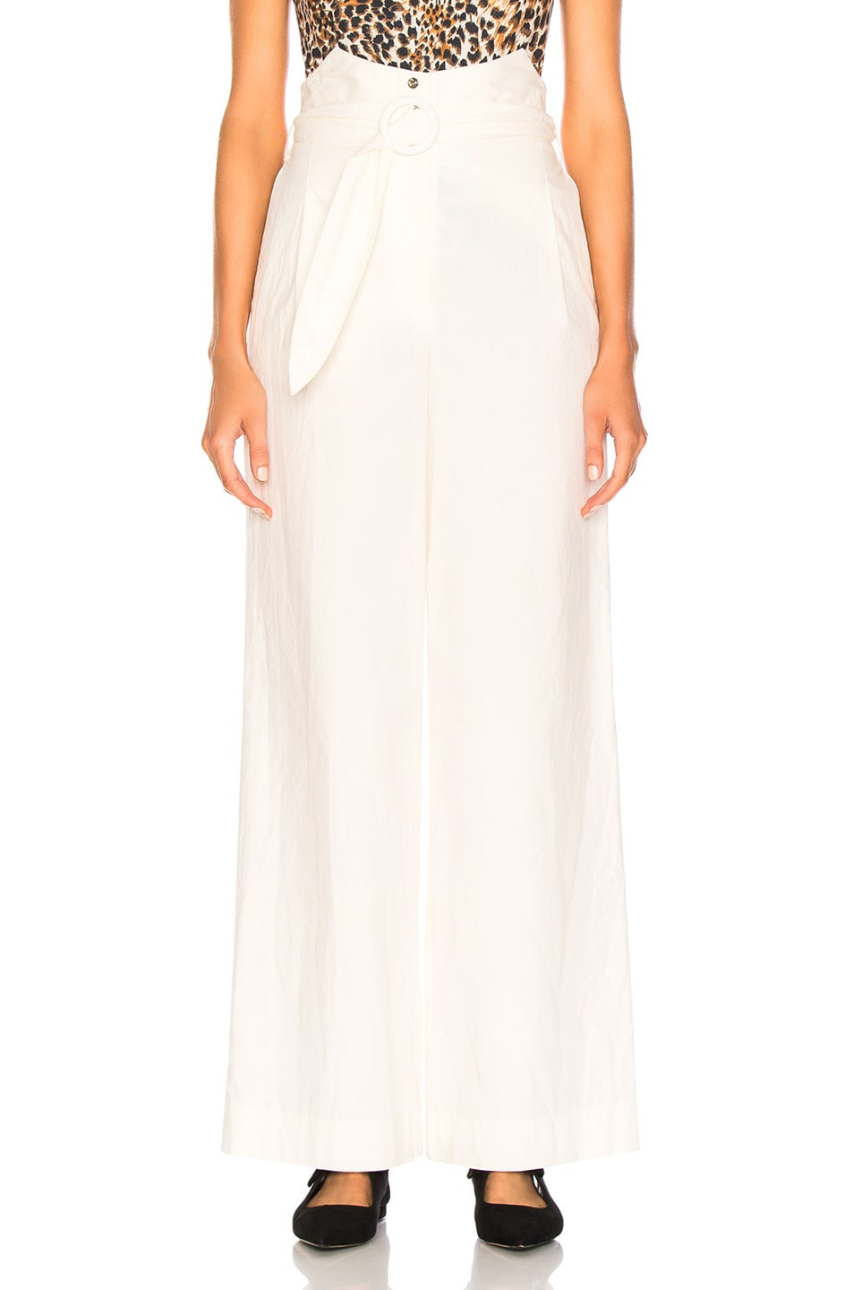 Image 1 of Nanushka Marie Pants in Off White