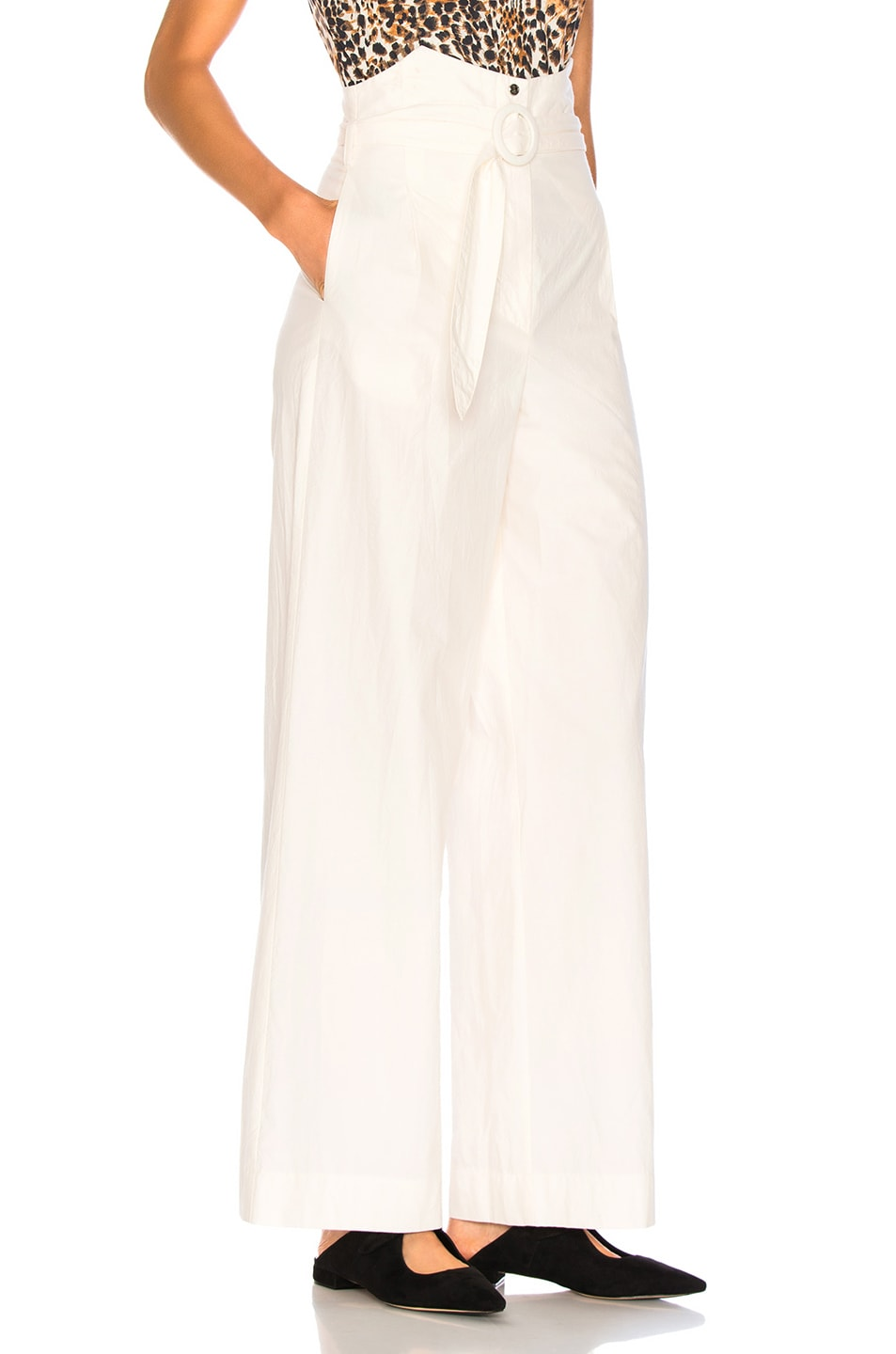 Image 2 of Nanushka Marie Pants in Off White