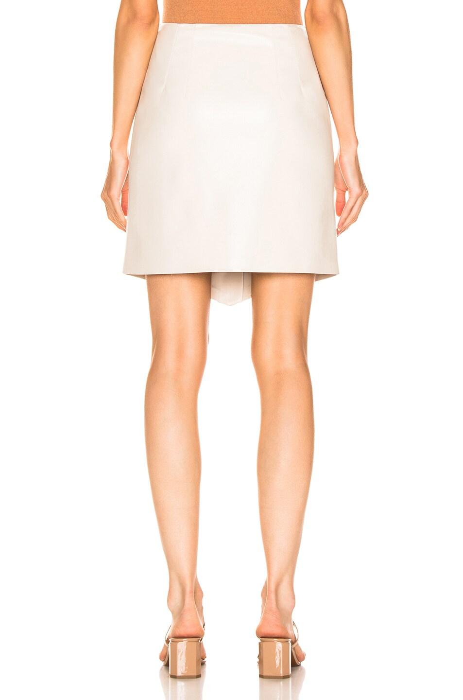 Image 3 of Nanushka Sils Skirt in Creme