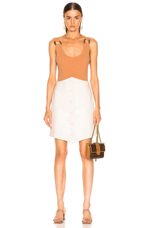 Image 4 of Nanushka Sils Skirt in Creme