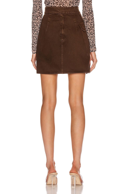 Image 4 of Nanushka Yeva Skirt in Espresso
