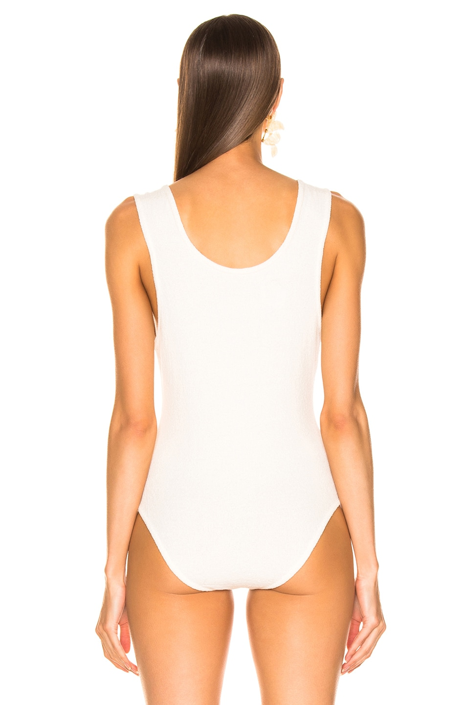 Image 4 of Nanushka Maike Bodysuit in Creme