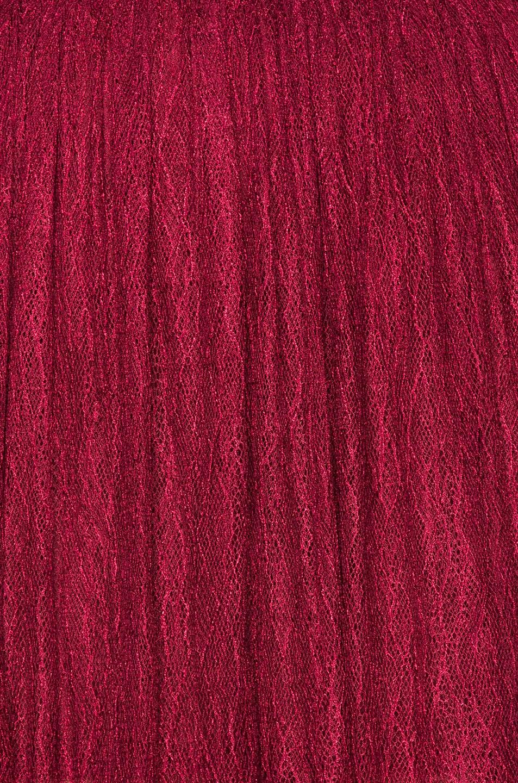 Image 5 of NICHOLAS Long Sleeve Mini Dress in Burgundy