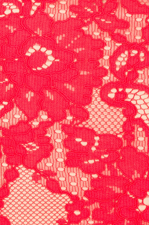 Image 5 of NICHOLAS Rubie Lace Bra Dress in Watermelon