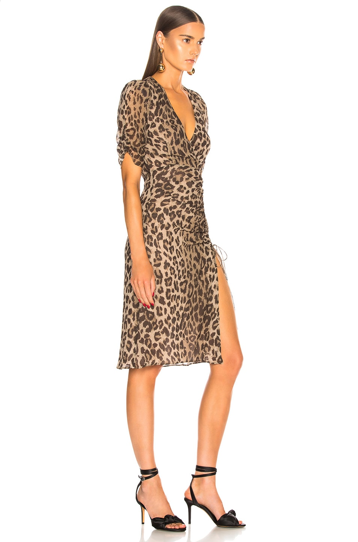 Image 2 of NICHOLAS Tea Dress in Leopard