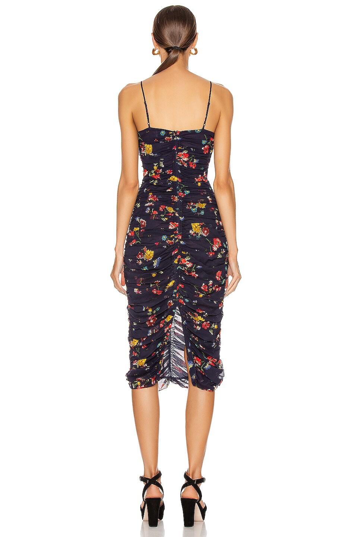 Image 3 of NICHOLAS Gathered Slip Dress in Midnight Multi
